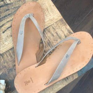 Frye flip flops